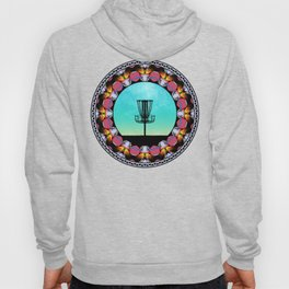 Disc Golf Abstract Basket 6 Hoody