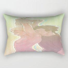 Back Kiss Rectangular Pillow