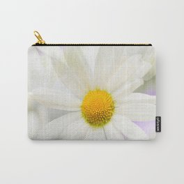 Daisy Flower Bouquet Pastel Color Background #decor #society6 #buyart Carry-All Pouch