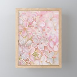 The Essence of Spring- Pink Lilac Flower Framed Mini Art Print