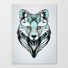 Little Polar Fox Canvas Print