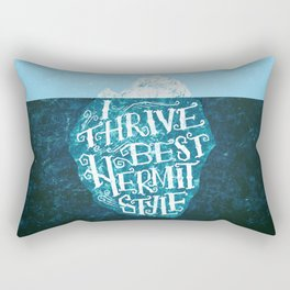 Hermit Iceberg Rectangular Pillow