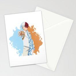 My Hero Academia Minimalist (Todoroki) Stationery Cards