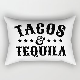 Tacos & Tequila Rectangular Pillow