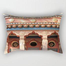 Main entrance tibet decoration ornaments. Rectangular Pillow