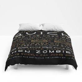 Lightyear Type Specimen Poster Comforters
