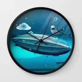 Weird Waters Wall Clock
