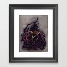 I Am No Man - An Ode to Éowyn Framed Art Print