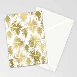 Radiate Gold Stationery Cards