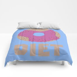 Donut for Diets B958r Comforters