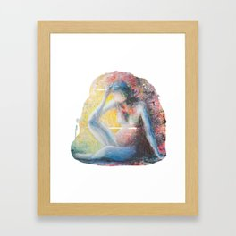 Lost In A Dream - Female Nude Framed Art Print