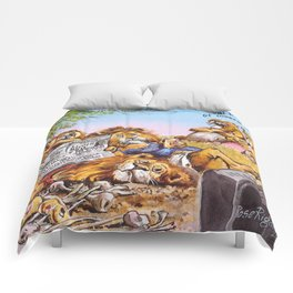 lazy lions Comforters