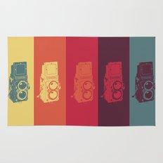 Camera. Rug