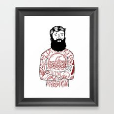 Matt the Hack Framed Art Print