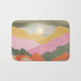 Colorful mountains Bath Mat