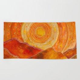 Sunset w.02 Beach Towel