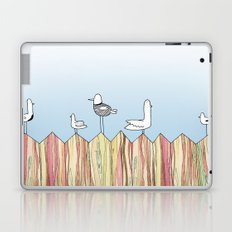 Fence Birdies Laptop & iPad Skin