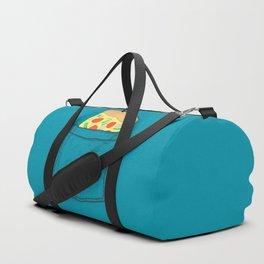 Emergency supply - pocket pizza Duffle Bag