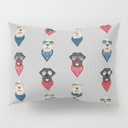 Labrador retrievers summer sunglasses bandana pure breed dog gifts Pillow Sham