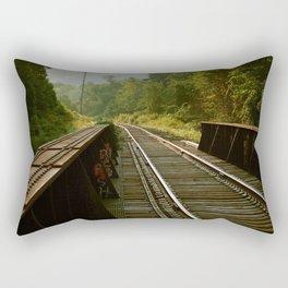Train Trestle Rectangular Pillow