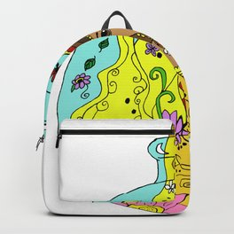 Devika Little Genie - Yellow Palette Backpack