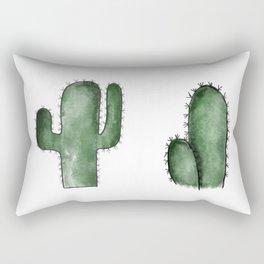 Double trouble Rectangular Pillow