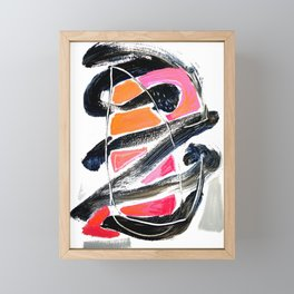 The Big Zag Framed Mini Art Print