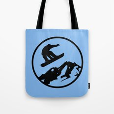snowboarding 3 Tote Bag