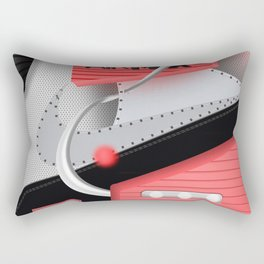 Air Max Abstract 90 Sneaker Rectangular Pillow