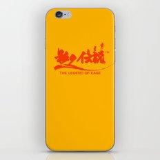 The Legend of Kage iPhone & iPod Skin