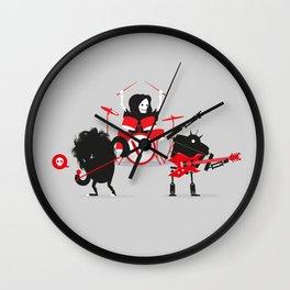 Monsters of Metal Wall Clock