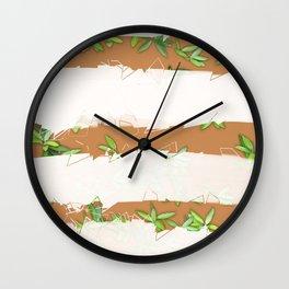 dschungel vibes Wall Clock