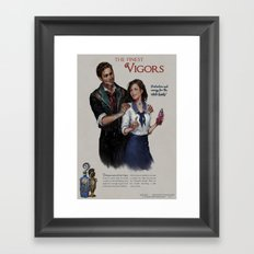 Bioshock Infinite Vigor Poster Framed Art Print