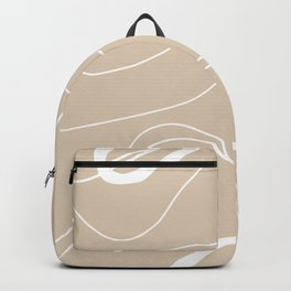 LINEE DI VITA - The lines of life - Modern abstract art hand drawn Backpack