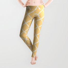 Criss Cross Yellow Leggings