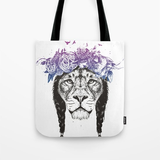 King of lions Tote Bag