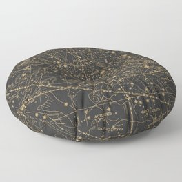Visible Heavens - Dark Floor Pillow