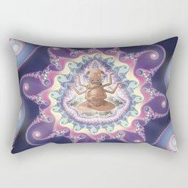 Psicodelic Cow's Inspiration Rectangular Pillow
