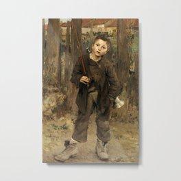 Jules Bastien-Lepage - Pas Mèche Metal Print