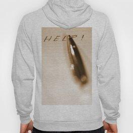 Pen Help Sepia Hoody