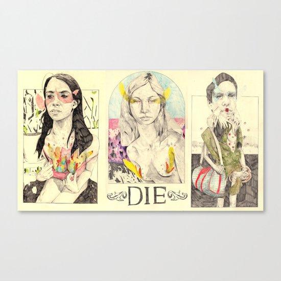 3figuresofdie Canvas Print