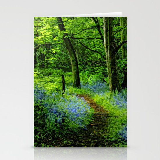 If you go down in the woods today. Stationery Cards