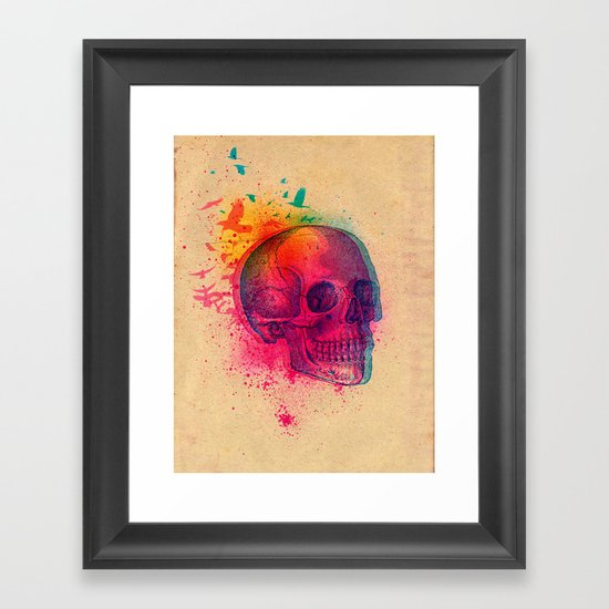 The Fleeting Framed Art Print