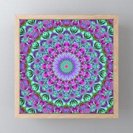 Geometric Mandala G386 Framed Mini Art Print