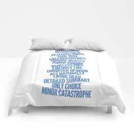 Oxymorons Comforters