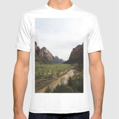 The Virgin River Mens Fitted Tee MEDIUM White