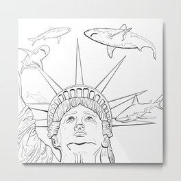 This is America Metal Print