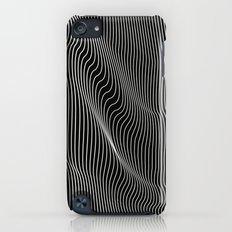 Minimal curves black Slim Case iPod touch