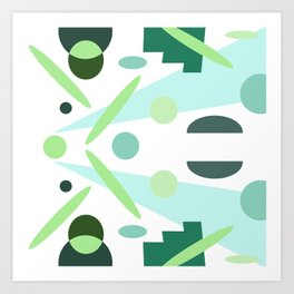 Minty Art Print
