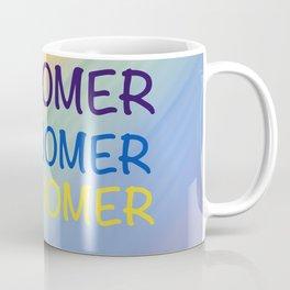 OK BOOMER PRIDE #wordart #memeart Coffee Mug